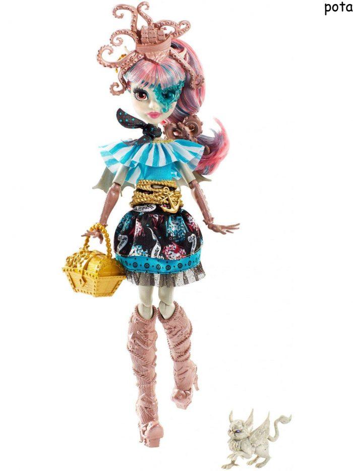 Monster High Shriek Wrecked Doll Asrt